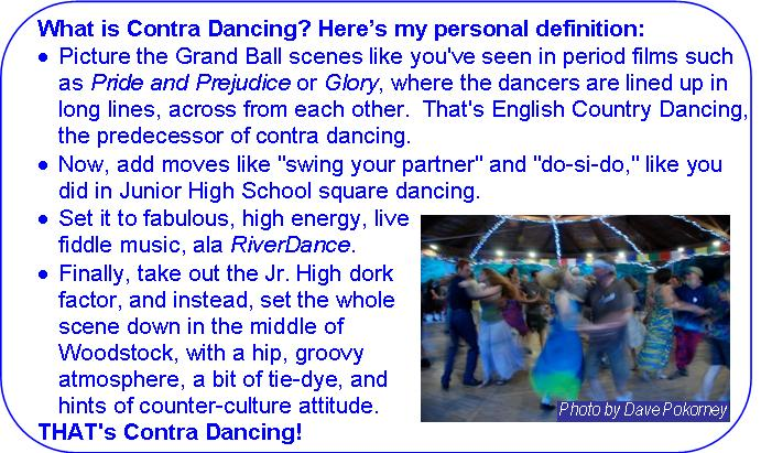 What is Contra Dancing: